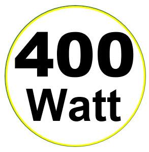 400 Lumen is hoeveel watt